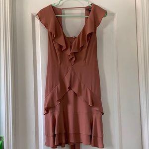 Express ruffle dress
